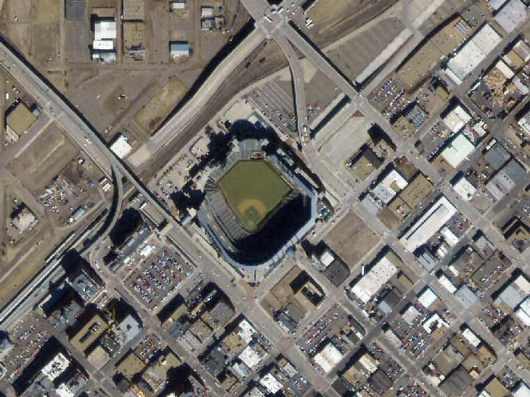 Coors Field Denver CO One meter resolution