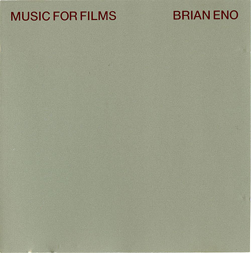 Music For Films-Brian Eno