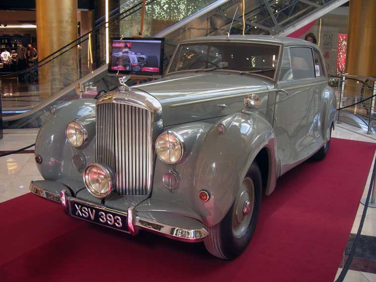 Bentley mk VII coach built 1946